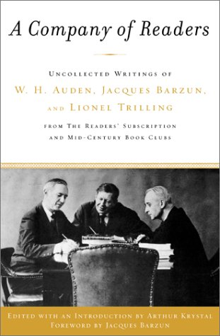Art, politics, and will : essays in honor of Lionel Trilling
