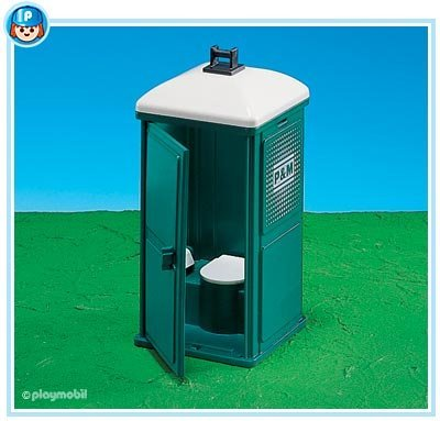 PLAYMOBIL® 7867 – Mobile Toilette günstig