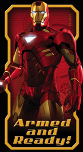 Licenses Products Iron Man 2 Armed and Ready Sticker