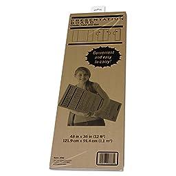 Pacon 3783 Spotlight Corrugated Presentation Display Board, White, 48 x 36 Inches (PAC3783)