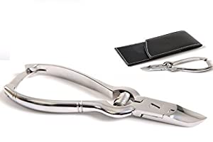 CANDURE® - Professional Podiatrists Toe Nail Nippers Clippers Cutters. Podiatry Chiropody Instruments 5.5'' Excellent Quality Fully Autoclavable