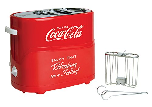 Nostalgia Electrics Coca Cola Series Pop-Up Hot Dog Toaster コカ・コーラ ホットドッグトースター (並行輸入)