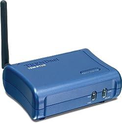 TRENDnet Wireless 3-Port Print Server TEW-P21G (Blue)