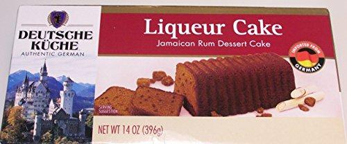 Jamaican Rum Liqueur Cake