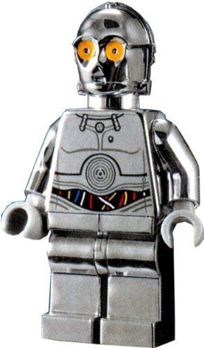 LEGO Star Wars TC-14 Promo MiniFigure Silver Chrome Exclusive Limited Edition by LEGO jetzt kaufen