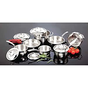 Paderno Pro Gourmet 12-pc. Cookware Set 18/10 Stainless Steel