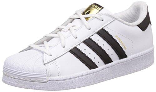adidas-superstar-foundation-scarpe-da-basketball-unisex-bambini-multicolore-ftwwht-cblack-ftwwht-28-