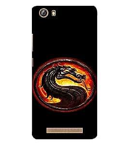 EPICCASE Dragon Mobile Back Case Cover For Gionee Marathon M5 lite (Designer Case)