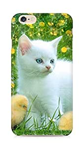 Amez designer printed 3d premium high quality back case cover for Apple iPhone 6s (Cat kitten)