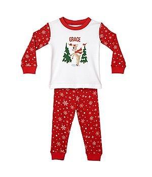 Personalized Christmas Pajamas front-1025432