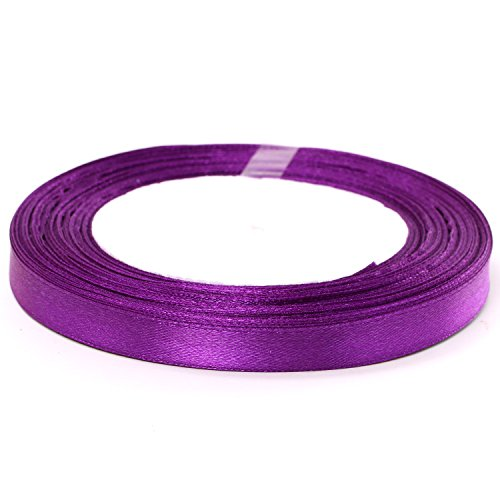 Fashion And Superior Quality 10Mm Pure Color Single-Face Silk Ribbon For Happy Marriage Sd034 (A6)