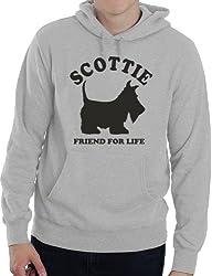 Scottie Dog Lover Adult Ladies Mens Hoodie Birthday Gift Idea Size S-XXL