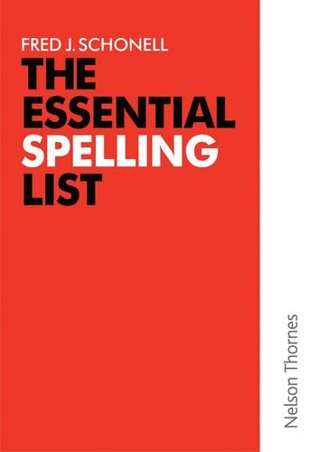 The Essential Spelling List (English Skills & Practice)