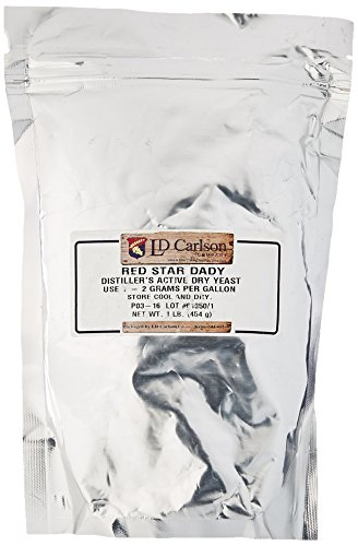 Distillers Yeast (DADY) (1 lb. bulk pack) (Super Start Distillers Yeast compare prices)