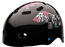 Bell Monster High Fabulously Sporty Youth Multi-Sport Helmet (Black) by Bell