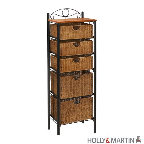 Wicker Dresser Furniture front-1064422