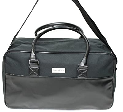 Ermenegildo Zegna Parfums Black Travel Bag Duffle Bag Smart Weekend Bag Work Bag by ERMENEGILDO ZEGNA PARFUMS
