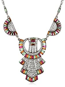Ben-Amun Jewelry Deco Pendant Necklace, 16""