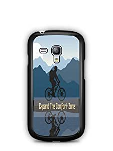 YuBingo Expand The Comfort Zone Designer Mobile Case Back Cover for Samsung Galaxy S3 Mini