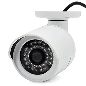 1/3 Inch SONY Super HAD CCD II Smart Camera - Face Recognition, 800 TVL, 4.2mm Lens, Micro SD Slot