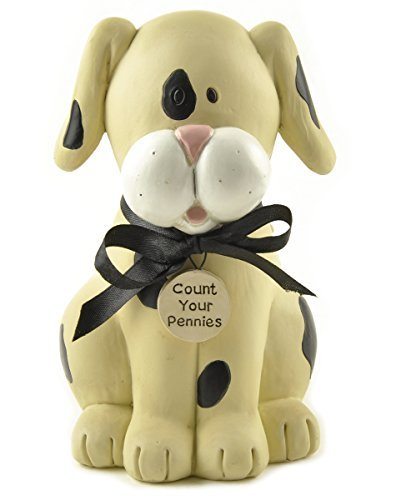 'Count Your Pennies' Dog Bank - 1