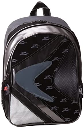 Skechers Big Boys' K Light Classic Backpack, Steel Grey, One Size