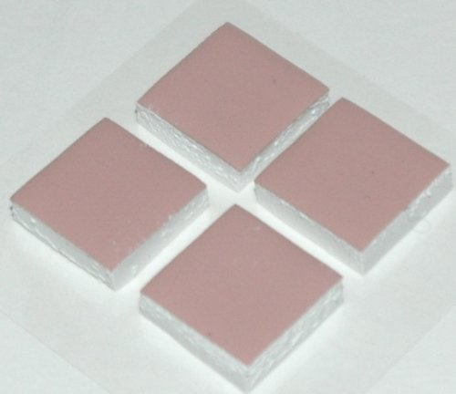 Xbox 360 Thermal Pads - 1 Set RAM Thermal K Pads (4 PCS) for RAM Chips - Upgrade Cooling Repair - Prevent RROD