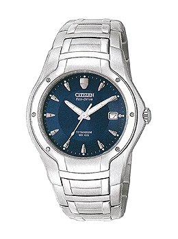 Citizen Men's Eco-Drive 180 World Titanium Watch #BM0900-51L