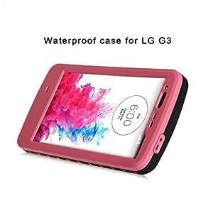 Amazon.com: Red Pepper LG G3 Waterproof Case,Full-body ...