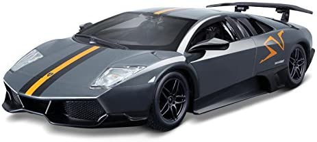 Bburago 1:24 Murciélago Lp 670-4 SV China Limited Edition, Met Gray