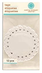 Martha Stewart Crafts Tags Die-Cut Lace By The Package