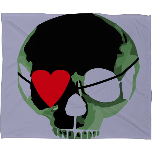 Skull Throw Blanket back-1077944