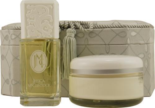 Jessica Mc Clintock by Jessica Mcclintock for Women. Set-Eau De Parfum Spray 3.4-Ounces & Body Cream 7-Ounces & Elegant Jewelry Box