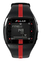 Polar Ft7 Men's Heart Rate Monitor (Black with Red Display)