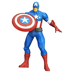 "Avengers Marvel Mighty Battlers Captain America 6"" Action Figure"