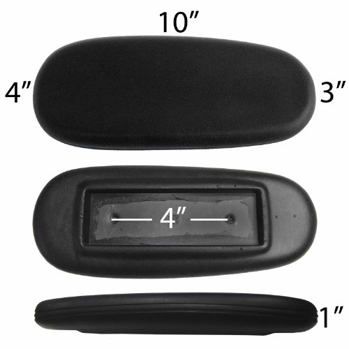 Replacement Office Chair Armrest Arm Pads (Set of 2) S2724-1 (Chair Repair Parts compare prices)