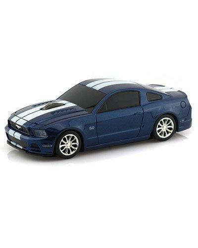 souris-sans-fil-voiture-ford-mustang-gt-bleu