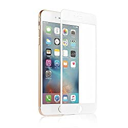 Anker GlassGuard+ for iPhone 6 Plus [5.5 inch] (Premium Tempered-Glass Full Screen Protector with , Perfectly Covers Curved Edges) [Not Compatible with iPhone 6s Plus] (White)