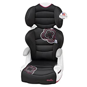 guide evenflo big kid amp forward facing booster car seat pink lemonade baby baby car seats. Black Bedroom Furniture Sets. Home Design Ideas