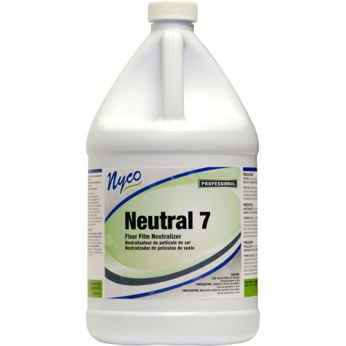 Nyco Products Nl107-G4 Neutral 7 Floor Film Neutralizer, 1-Gallon Bottle (Case Of 4) front-471948