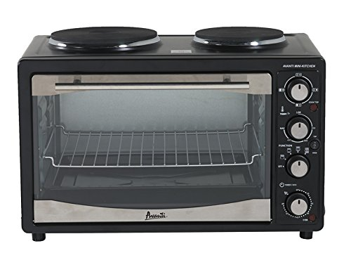 Avanti POB11A1B 1.1 CF Multi Function Oven, Black (Small Conventional Oven compare prices)