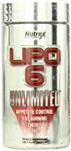 Nutrex Research Lipo 6 Unlimited Diet Supplement 120 Count