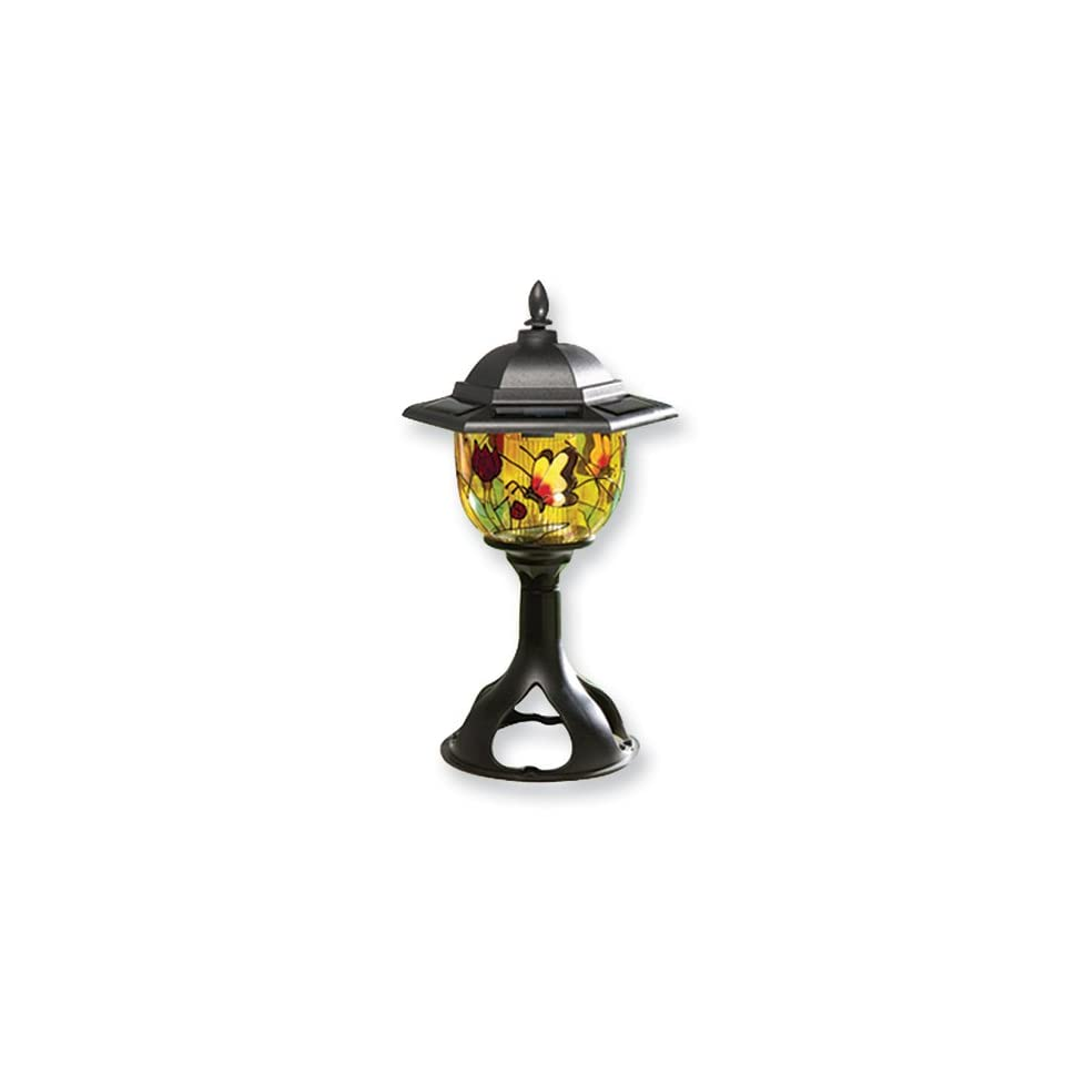 Tiffany Style Solar Outdoor Light