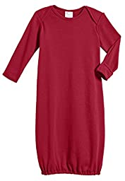 100% Cotton Baby Sleeping Bag Gown - Red - 3/6 m