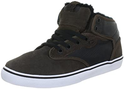 Globe Motley Mid, Unisex-Erwachsene Hohe Sneakers - Braun (choco/black fur 17220), 38 EU (5 Erwachsene UK)