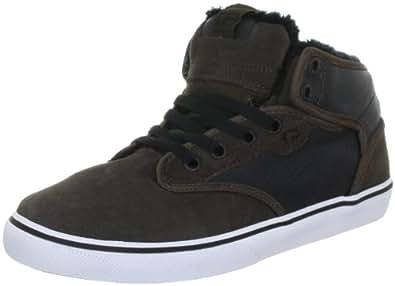 Globe Motley Mid, Chaussures de skateboard homme, Marron (17220 Choco/black Fur), 37