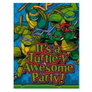 Tmnt Ninja Turtle Goody Bag Party Loot Favor Treat Bag 1 Bag Containing 6 Treats