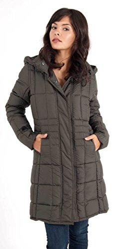 Spiewak Leyden Coat In Noreaster Gray front-89536