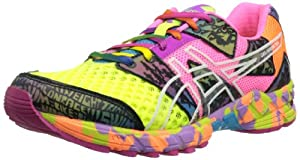 ASICS Women's GEL-Noosa Tri 8. Running Shoe,Flash Yellow/Flash Pink/Multi,8 M US