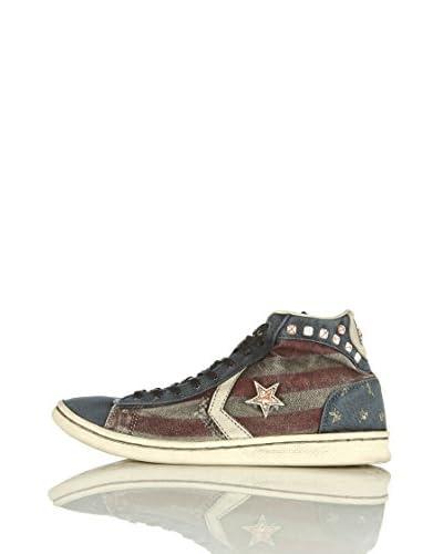 Converse Sneaker Pro Lea Lp Mid Canvas Limited Pro Lea Lp Mid Canvas Limited [Blu]